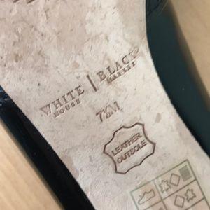 White House Black Market Shoes - WHBM black heels